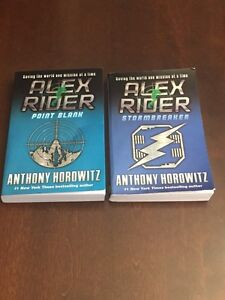 Alex Rider Storm Breaker & Alex Rider Point Blank