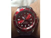 Rolex Submariner Red Quartz for sale