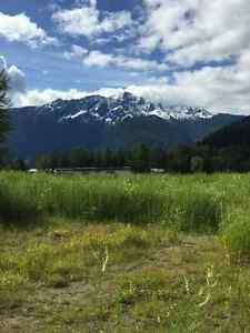 Premium building lots for sale in Pemberton, BC.