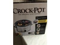 Crock Pot. Slow Cooker. 3.5l