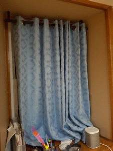 Blue Curtains (1.5m * 2m)