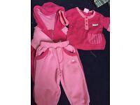 Baby girl light pink pyjama