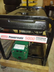Coleman Powermate 5000 watt Gas Generator 10 HP