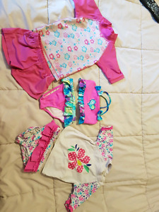 Three Bathing Suits