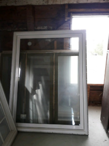 "50"" x 64"" fixed picture window"