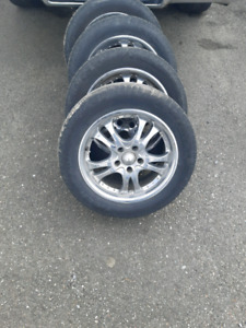 """16"""" rims and summer tires"""
