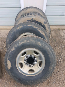 Chevy/GMC/Dodge Rims & Tires