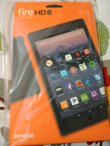 Brand New Sealed Amazon Fire HD 8 Tablet