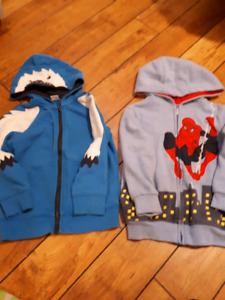 Boys size 4 - five tops