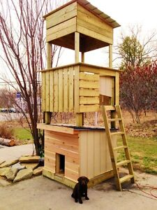 Large or medium bread dog house / play structure