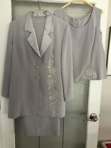 Mother of the Bride Silver dress