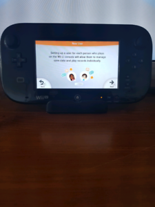 Wii U console and 6 games - Excellent condition