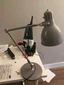 $15 lamp and dust collector. 10 for lamp