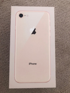 ROSE GOLD IPHONE 8 64GB FOR SALE - warranty included!