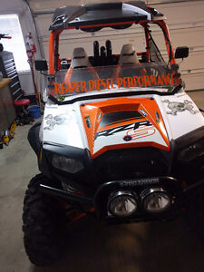 ## HEY FOLKS ## 2013 RZR 800 S '' LOADED WITH EXTRAS''MUST SEE #