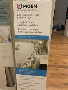 Moen Adjustable Curved Shower rod
