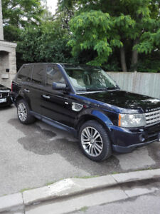 2009 Range Rover Sport Supercharged SUV, Crossover