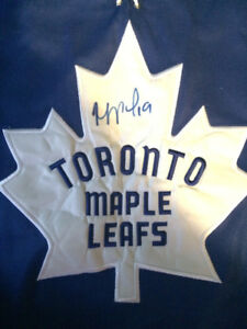 Toronto Maple Leafs Autographed Lupul Jersey
