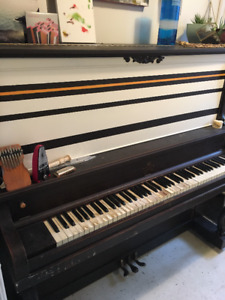 FREE Upright piano with plenty of character