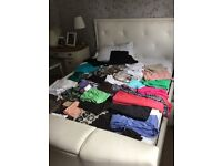 WOMENS CLOTHING SIZE 12...43 ITEMS MANY WITH TAGS AND NEVER WORN