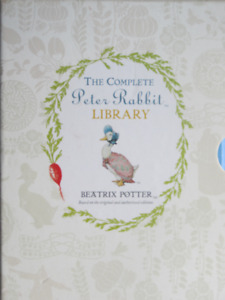 THE COMPLETE PETER RABBIT LIBRARY BOX SET – 2012
