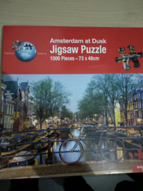 1000 pieces puzzle of Amsterdam