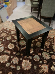 Teak chest and side table - Must go
