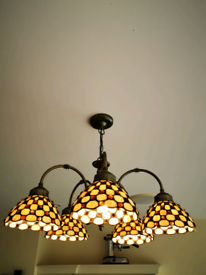 Tiffany Ceiling Chandelier Lights