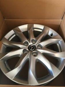 "MAGS NEUF MAZDA 3 GT 18"" NEW OEM WHEELS"