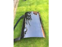 Ford Focus 2010 driver door black Good condition Used -