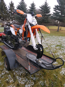 2013  KTM  500CC TIMBERSLED TORBO  LOW HRS