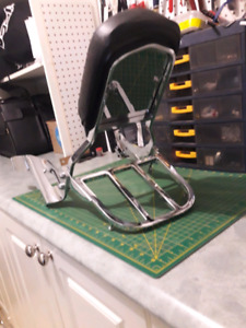 Sissy bar / backrest / luggage rack / Honda Shadow