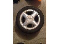 Ford Fiesta MK4 alloy wheels need gone