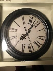 Brand new clock!