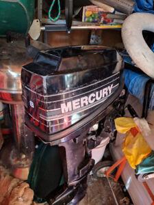 1988 Mercury 8 hp (9.9) 2 stroke engine for sale