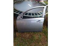 Astra h 2008 5 door complete front passenger door in silver lightning z163 vgc 07594145438