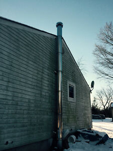 Stainless steel chimney/stack