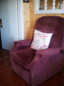 Electric recliner...excellent condition $100 obo