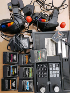 Vintage coleco game system and intellevision systems