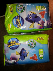NEW DORY Small HUGGIES little SWIMMERS 16-26lbs