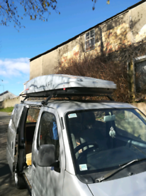 Roof rack and box
