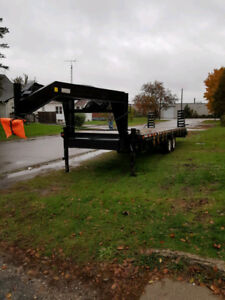 REDUCED - flatbed trailer 5th wheel
