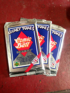 Looney tunes comic ball, upper deck, series #1