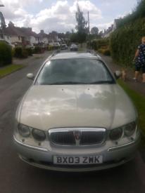 Rover 75 cdti estate MOT