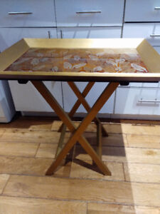 Pier 1 Imports Folding Side Table