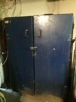 Thick, Durable Metal Storage Cabinet !!