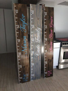 Growth Charts | Hand Made | Custom | Peterborough Peterborough Area image 2