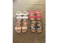 Next size 4 sandals