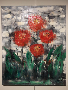 Signed Oil Painting - 16 in.(40.64 cm.) x 20 in.(50.8 cm.)