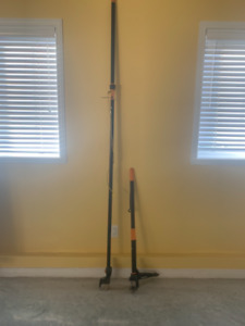 Fiskars telescopic power lever  and weeder